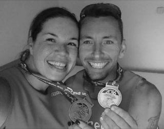 Jeremy and Emma Great North Run 2016
