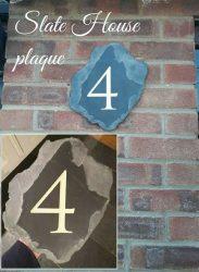 Slate House Plaques