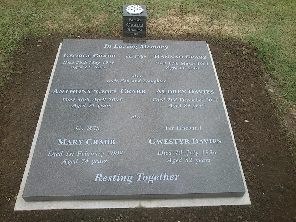 Crabb Davies Memorial
