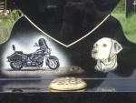 Scooter & Labrador